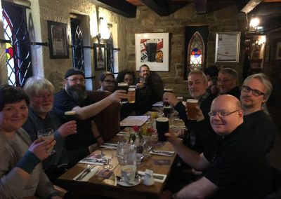 Northern-Delights-6-day-northern-ireland-tour-enjoying-a-pint