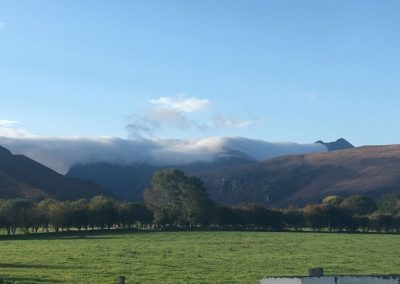 Cloud on the mountains on 6 day Northern-Delights_tour