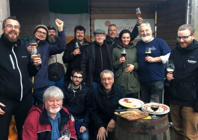 Small group fun on the northern ireland tour