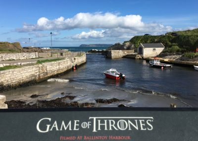 visit locations from the Game of Thrones on 6 day northern delights tour
