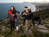 young couples killiney hill - visiting ireland 2019